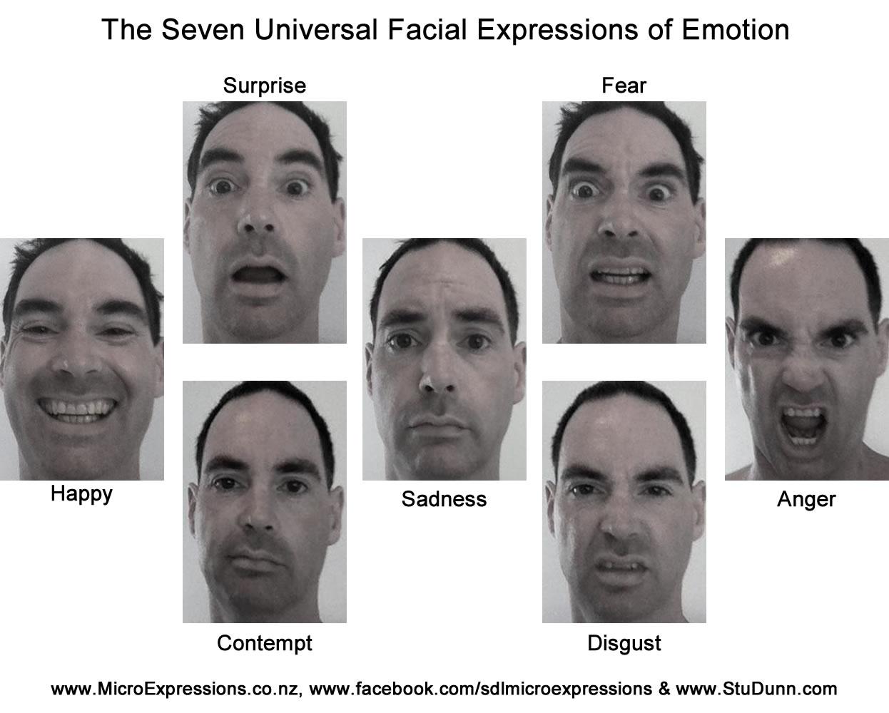 Universal Facial Expression 70
