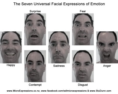 7 Universal Emotions
