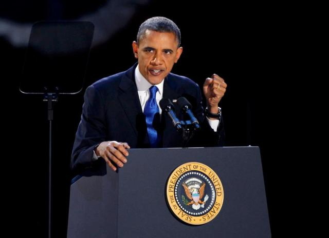 What is Obama's expressions and body language saying?