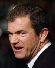 What is Mel Gibson's expression?