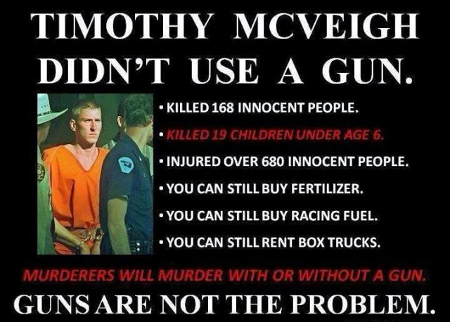 Are guns the problem, or an excuse?
