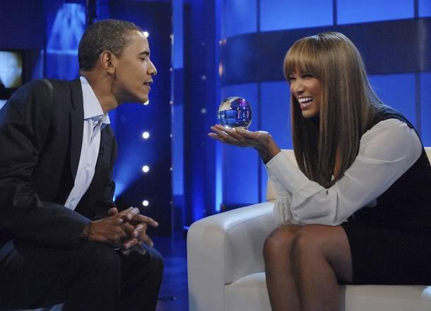 Tyra and Obama