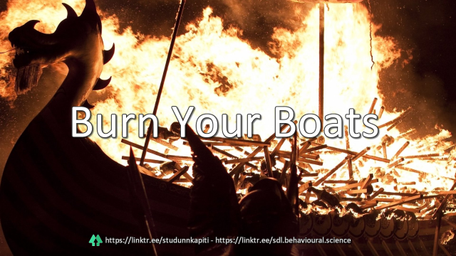 50 Burn Your Boats